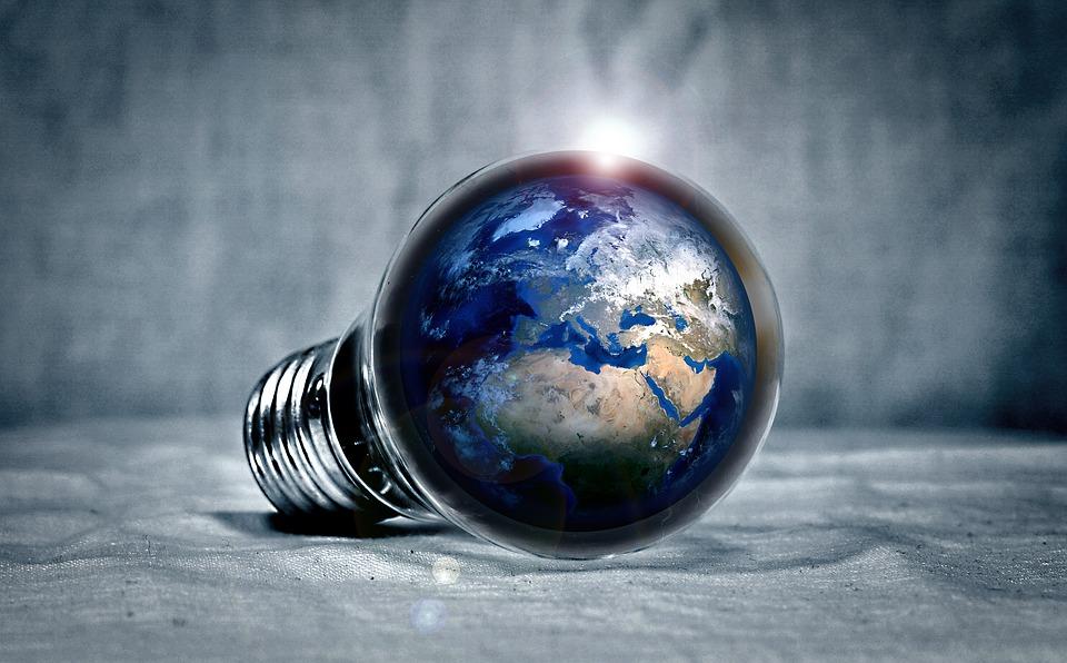 [Globe lightbulb]